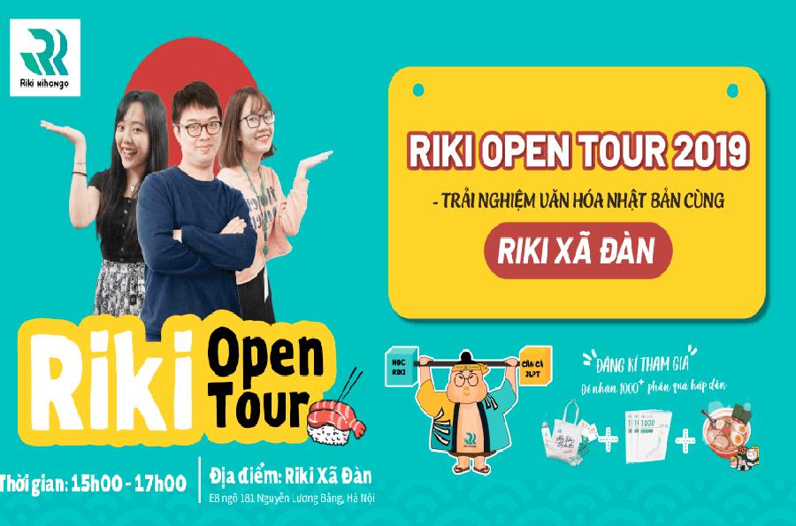 Tổng kết Riki open tour 2019: Trải nghiệm thực tế cực cool cùng Riki Xã Đàn